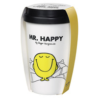 Travel Mug: Mr Happy