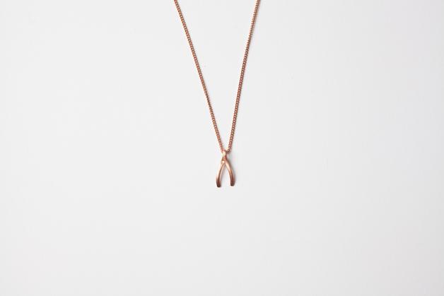 Stilen: Wish rose necklace