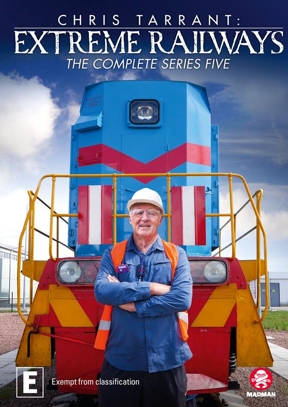 Chris Tarrant's Extreme Railways - Series 5 on DVD