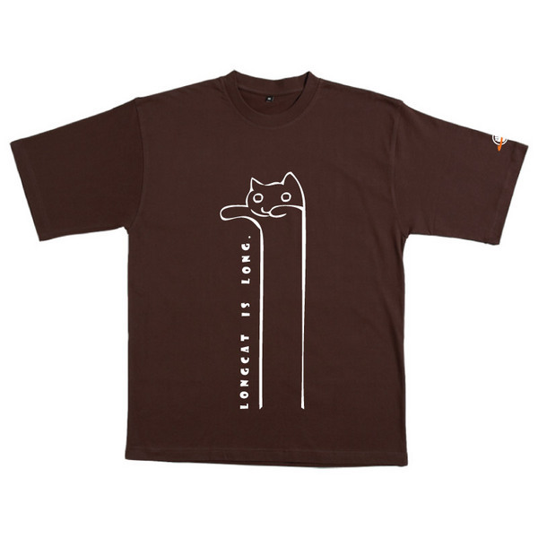 Longcat - Tshirt (Chocolate) for