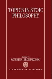 Topics in Stoic Philosophy image