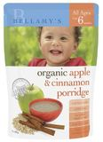 Bellamy's - Organic Apple and Cinnamon Porridge (125gm)
