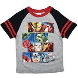 Marvel Avengers Assemble Grey T-Shirt (Size 4)