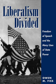 Liberalism Divided by Owen Fiss image