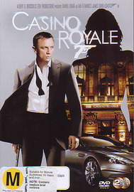Casino Royale (007) (2 Disc Set) on DVD image