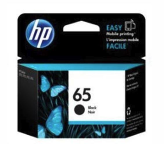 HP 65 Black Original Ink Cartridge