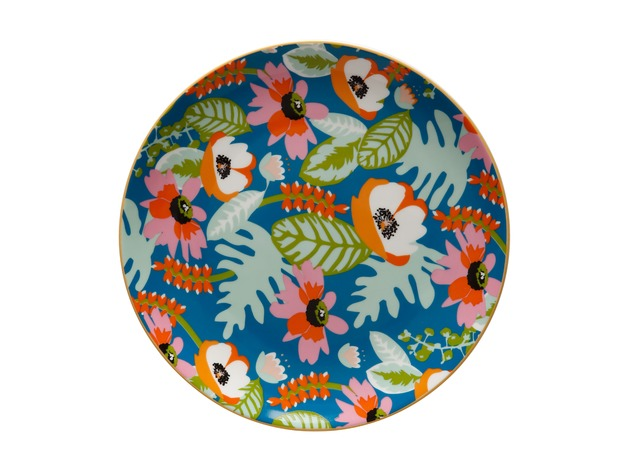 Maxwell & Williams: Teas & C's Glastonbury Plate - Alpinia Teal (20cm)
