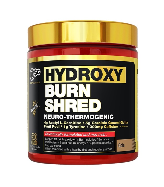 BSC Hydroxyburn SHRED Neuro Thermogenic - Cola (60 Serve)