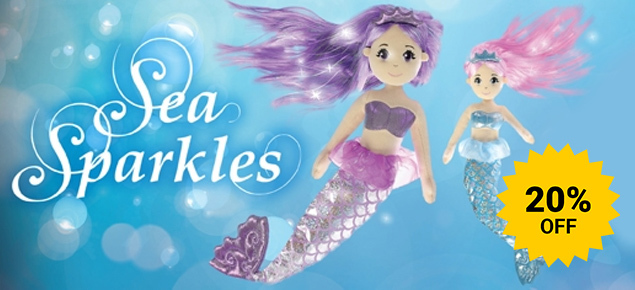 20% off Aurora Mermaids!