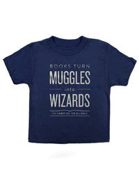 Books Turn Muggles Into Wizards Kids 6 Yr image