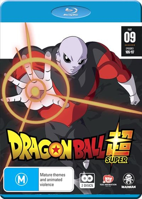 Dragon Ball Super Part 9 (eps 105-117) on Blu-ray