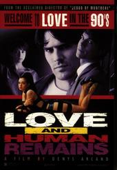 Love And Human Remains on DVD