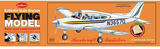Beechcraft Musketeer 1:20 Balsa Model Kit