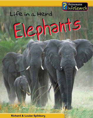 Life in a Herd of Elephants by Richard Spilsbury