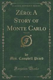 Zero by Mrs Campbell Praed