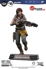"Gears of War 4: Kait Diaz - 7"" Action Figure"