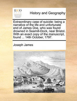Extraordinary Case of Suicide by Joseph James image