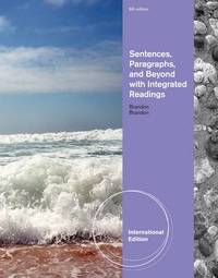 Sentences, Paragraphs, and Beyond by Lee E. Brandon image