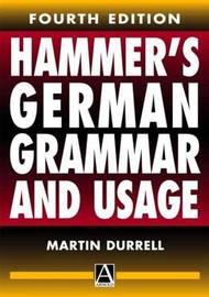 Hammer's German Grammar and Usage by Martin Durrell image
