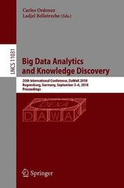 Big Data Analytics and Knowledge Discovery image