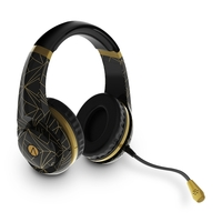 STEALTH Classic Gold Abstract Edition Stereo Multi-Format Gaming Headset for PC