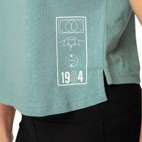 Canterbury: Womens Decoy - Vapodri Decoy Crop Tee - Oil Blue (Size 10)