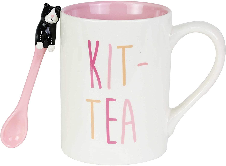 Kit-Tea Mug with Spoon Set image