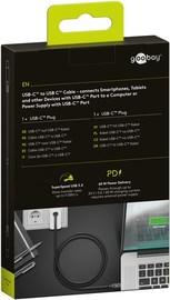 Goobay: Super Speed USB-C to USB-C 3.2 Cable (1m) - Black
