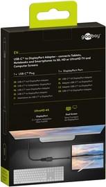 Goobay: USB-C to DisplayPort Adapter - Black