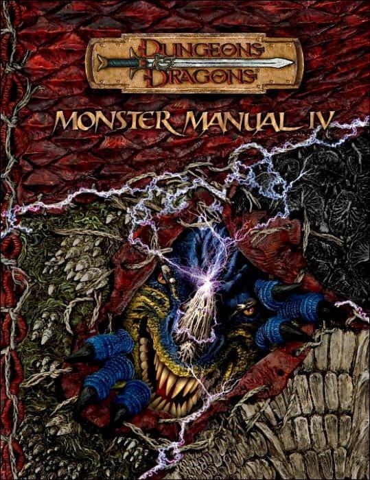Monster Manual: v. 4 by Gwendolyn Kestrol