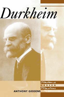 Durkheim by Anthony Giddens