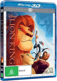 The Lion King 3D on Blu-ray, 3D Blu-ray image