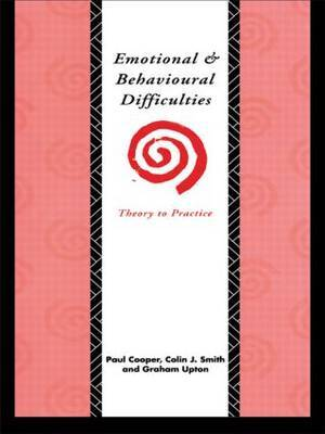 Emotional and Behavioural Difficulties by Paul Cooper image