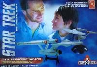 AMT: 1/1000 Star Trek Enterprise - Build-2-gether Kits