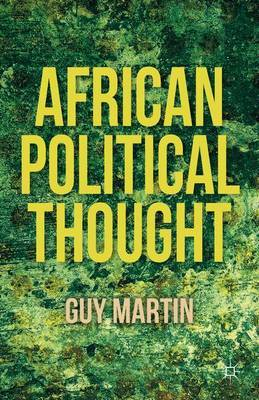 African Political Thought by G. Martin