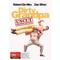 Dirty Grandpa on DVD