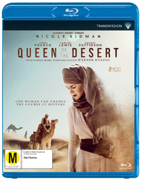 Queen Of The Desert on Blu-ray