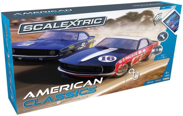 Scalextric Arc One - American Classics 1/32 Slot Car Set