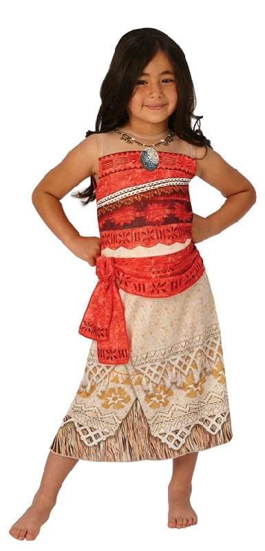 Disney Moana Classic Costume - Size 6-8