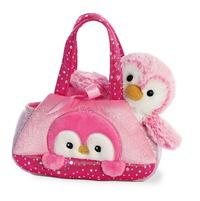 Aurora: Fancy Pal Pet Carrier – Pink Penguin