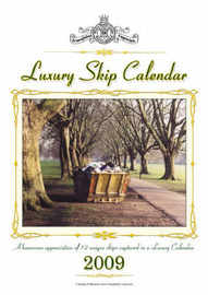Luxury Skip Calendar 2009 by David Boxshall image