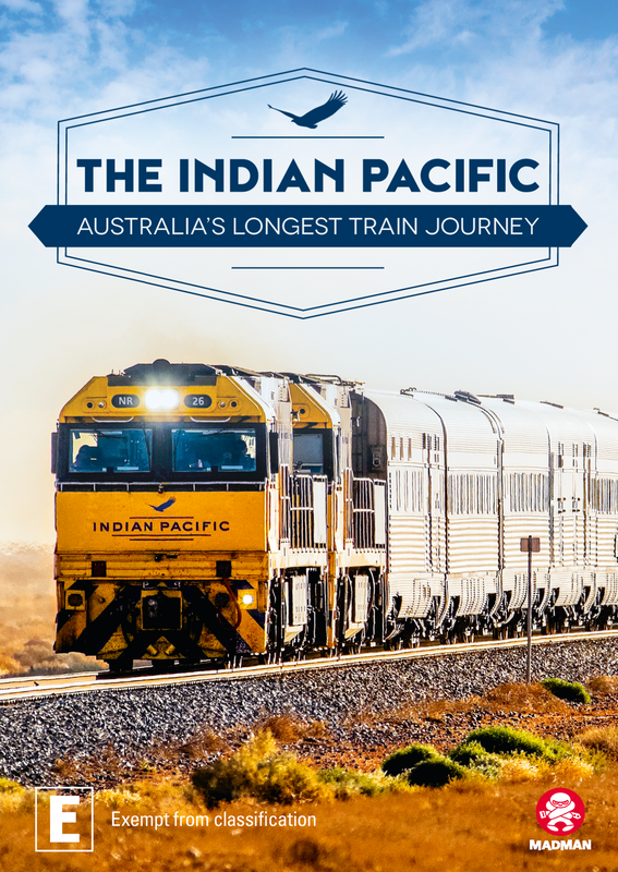 The Indian Pacific on DVD