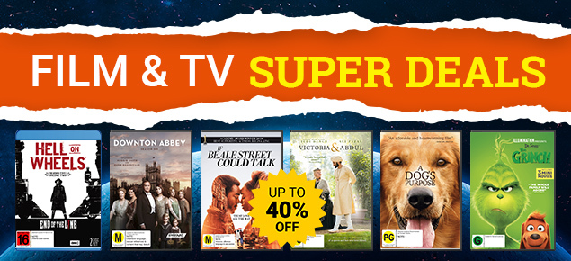 Film & TV Super Deals! Save up to 40% off!