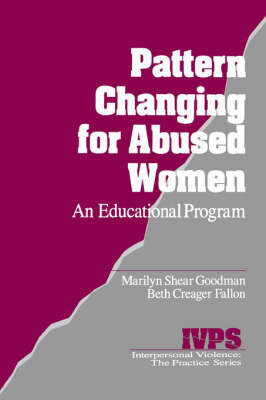 Pattern Changing for Abused Women by Marilyn L. Shear Goodman image