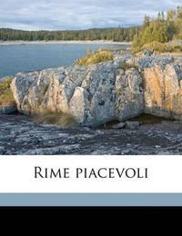 Rime Piacevoli by Antonio Cesari