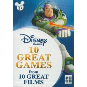 Disney 10 Great PC Games Pack for GameCube