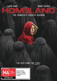 Homeland - Season 4 on DVD