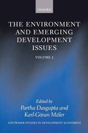 The Environment and Emerging Development Issues: Volume 1 by Karl-Goran Maler
