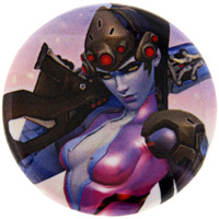 Overwatch Button - Widowmaker