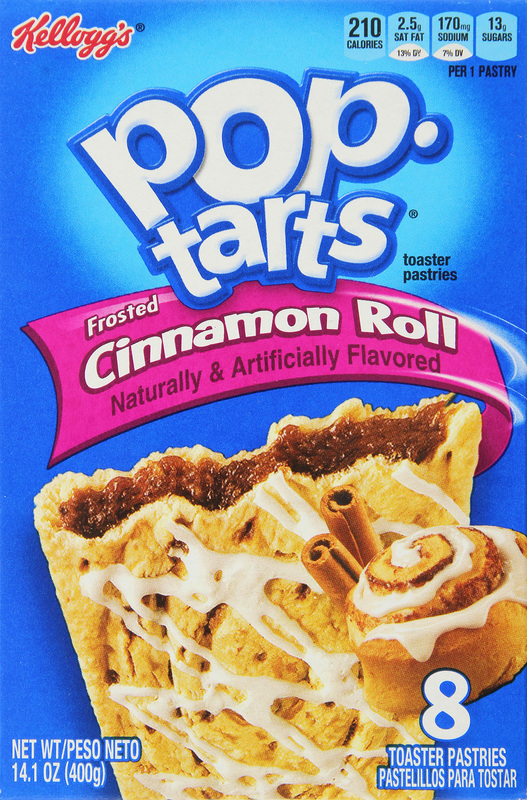 Kellogg's Pop Tarts Frosted Cinnamon Roll (8 Pack)